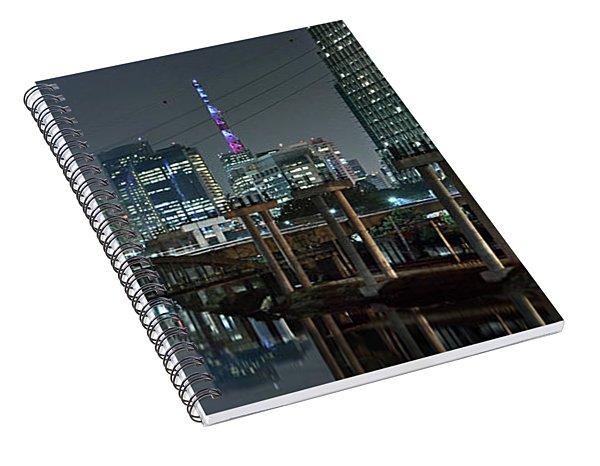 Sao Paulo Bridges - 3 Generations Together Spiral Notebook