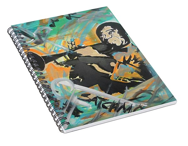 Satch Armstrong Spiral Notebook