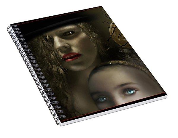 Satiated Spiral Notebook