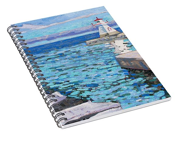 Saugeen Range Light Spiral Notebook