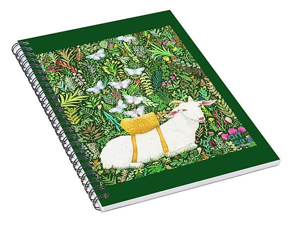 Scapegoat Healing Spiral Notebook