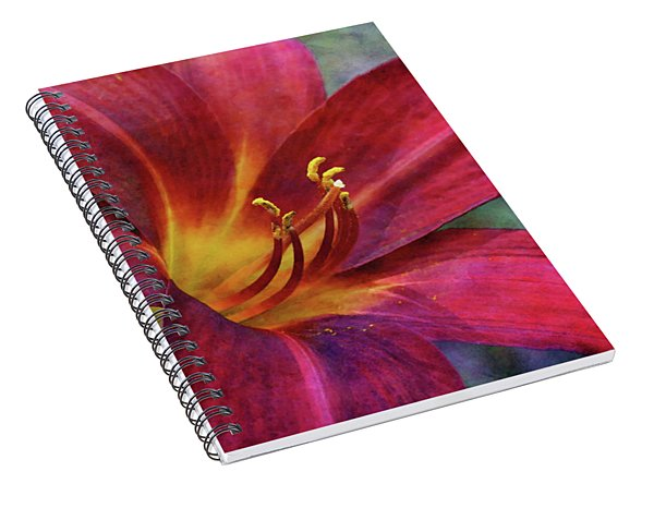 Scarlet And Gold Dust 3716 Idp_2 Spiral Notebook