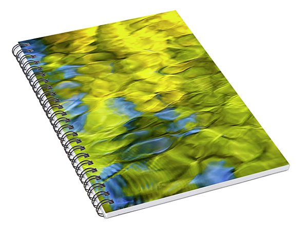 Sea Breeze Mosaic Abstract Spiral Notebook