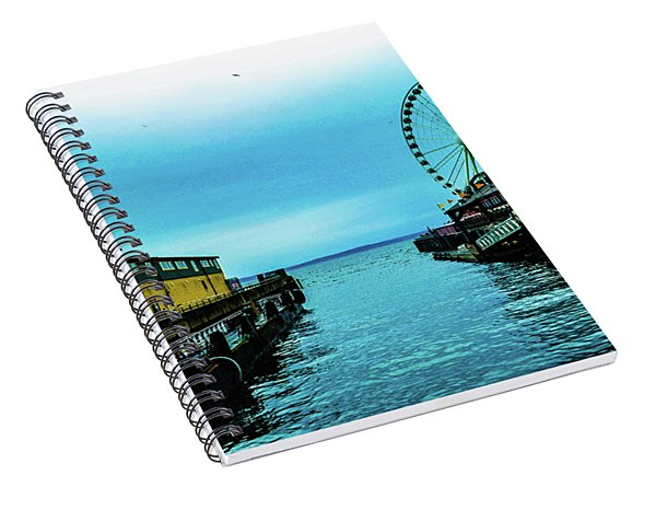 Sea Side, Seattle 2 Spiral Notebook