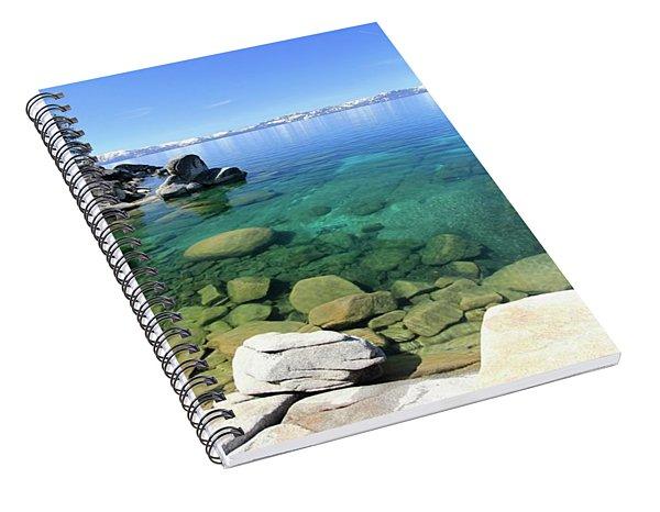 Search Her Depths  Spiral Notebook
