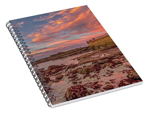 Seawall II Spiral Notebook
