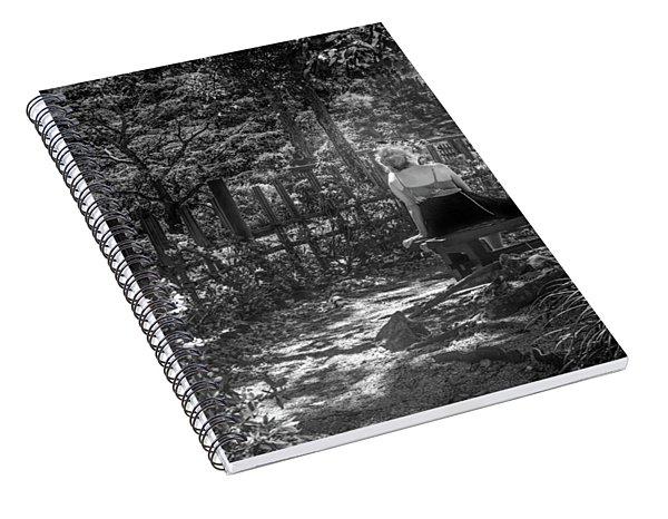 Secret Garden Spiral Notebook