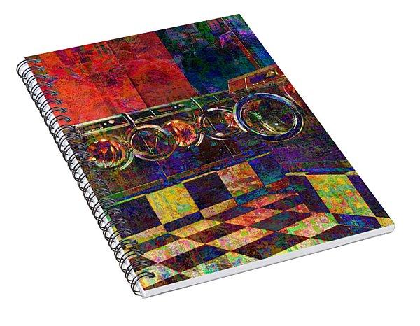Secret Life Of Laundromats Spiral Notebook