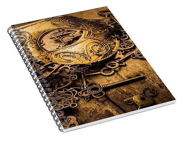 Secrets Of Rome Spiral Notebook