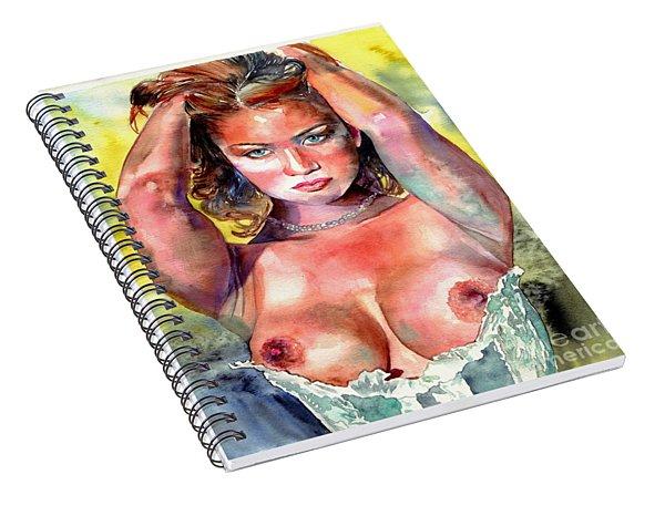 Selena Spiral Notebook