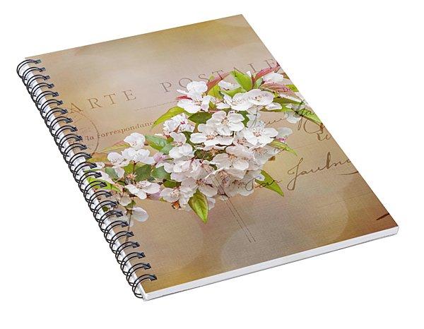 Sending Spring Spiral Notebook