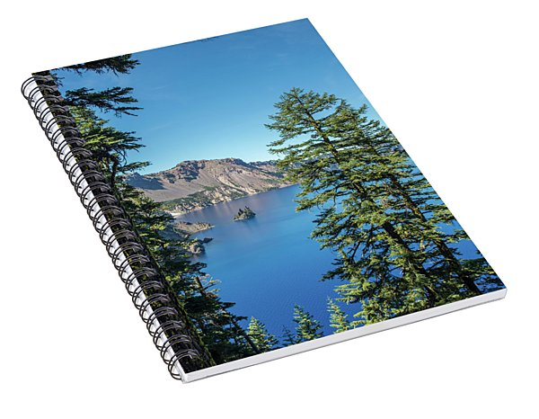 Serene Pines Spiral Notebook