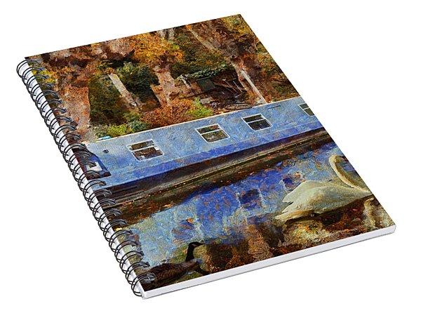 Serene Scene Spiral Notebook