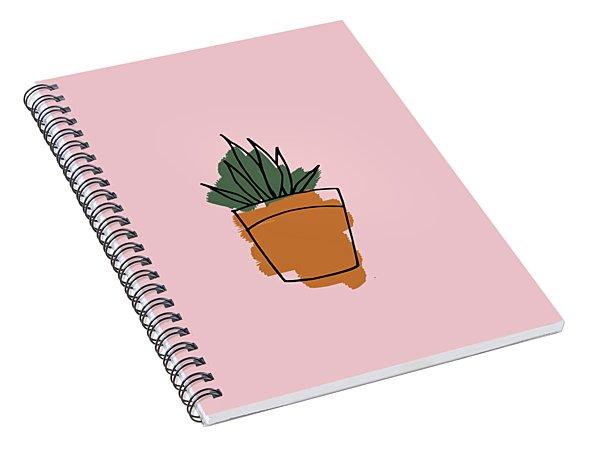 Series Pink 009 Spiral Notebook