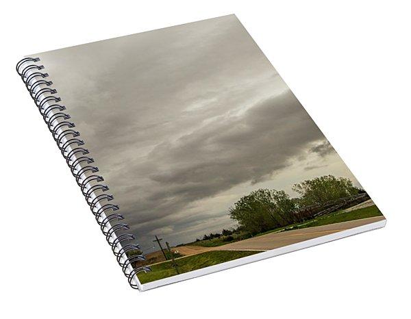 Severe Nebraska Weather 013 Spiral Notebook