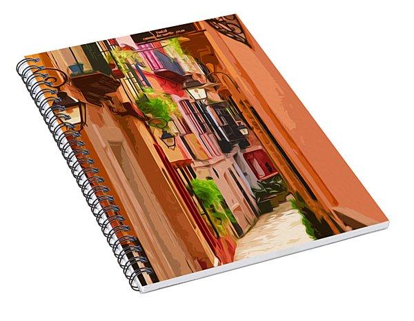 Seville, Colorful Spain Spiral Notebook
