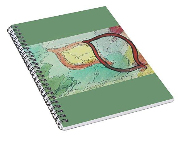 Shadow Yud Spiral Notebook