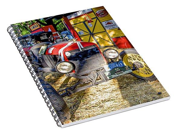 Shadows And Light Spiral Notebook