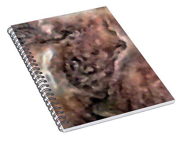 Shell Boy Spirit Photo Spiral Notebook