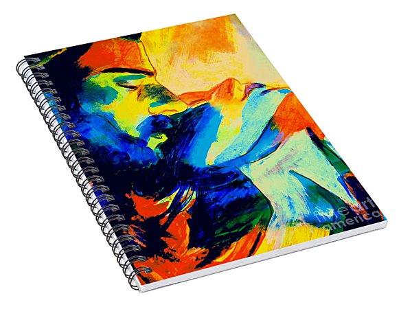Shining Love Spiral Notebook