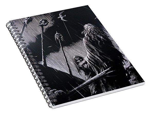 Siege Of Limerick Spiral Notebook