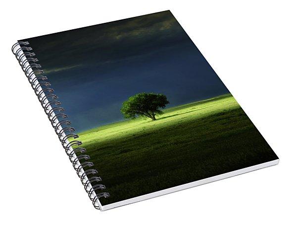 Silent Solitude Spiral Notebook