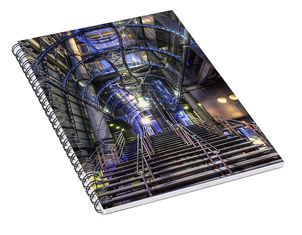 Silk And Steel 1.0 Spiral Notebook