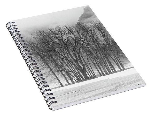 Simplicity - Yosemite National Park Spiral Notebook