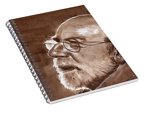 Sketch Of Bill Spiral Notebook