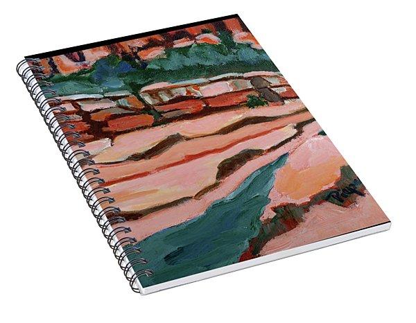 Slide Rock Park In Arizona Spiral Notebook
