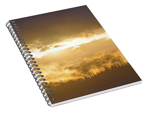 Smokey Sunset Spiral Notebook