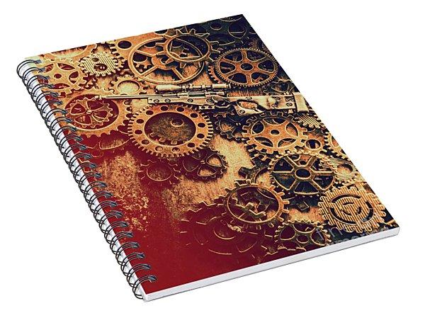 Sniper Rifle Fine Art Spiral Notebook