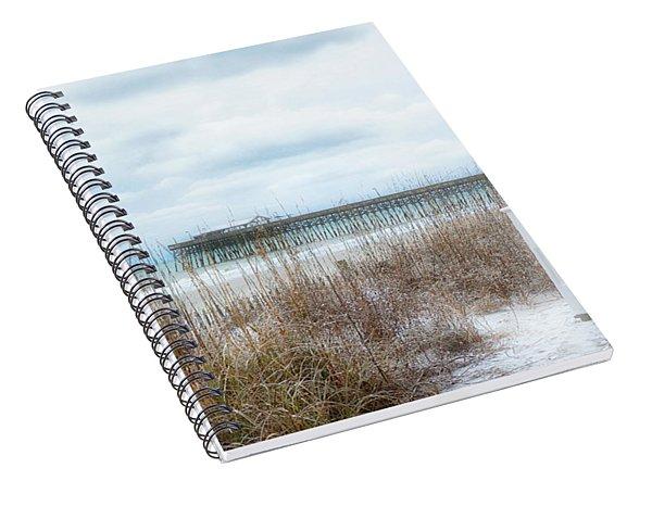 Snow On The Beach 8 Spiral Notebook