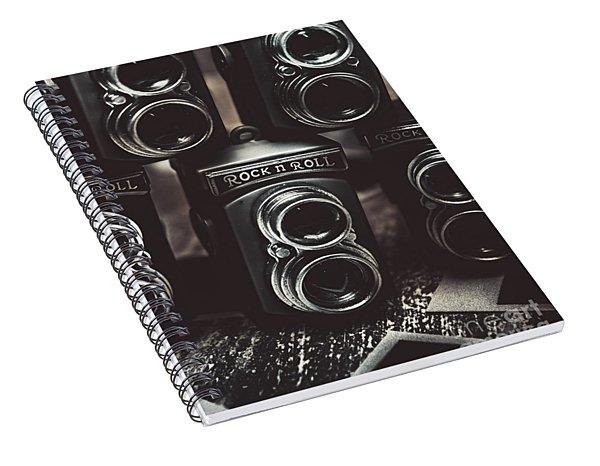 Sound Of Creative Photos Spiral Notebook