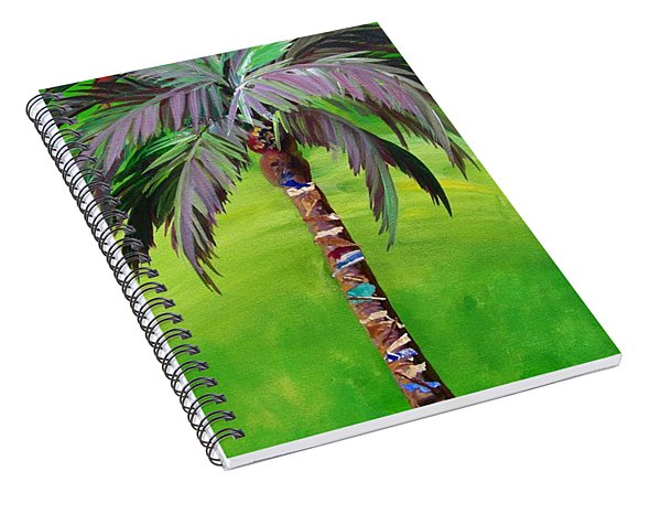 South Beach Palm IIi Spiral Notebook