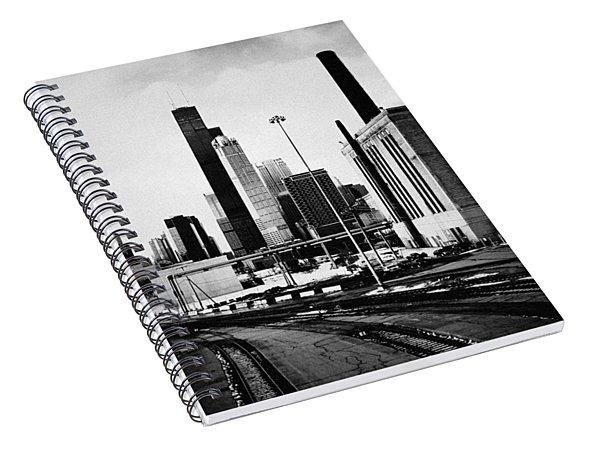 South Loop Railroad Yard Spiral Notebook