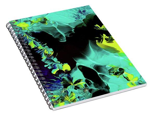 Space Vines Spiral Notebook