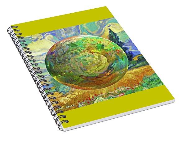 Sphering Of Succulents  Spiral Notebook