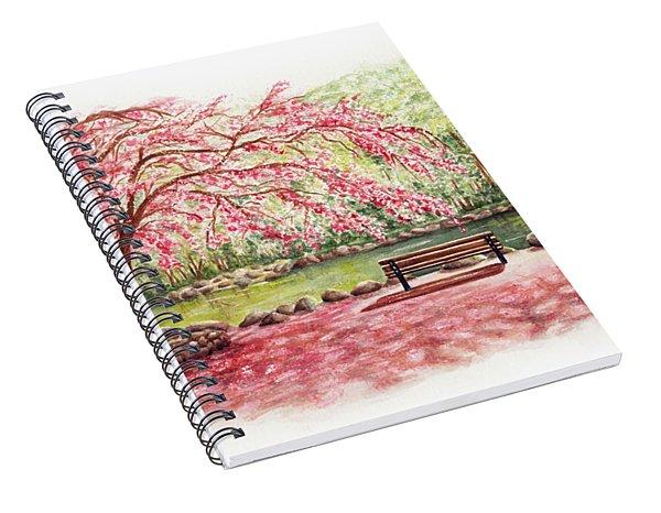 Spring At Lithia Park Spiral Notebook