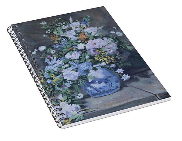 Spring Bouquet Part 2 Spiral Notebook