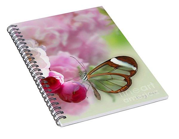 Spring Cherry Blossom Spiral Notebook