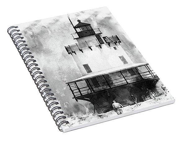 Spring Point Ledge Lighthouse Spiral Notebook