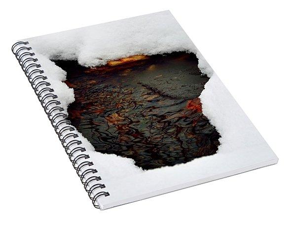 Spring Snow II Spiral Notebook
