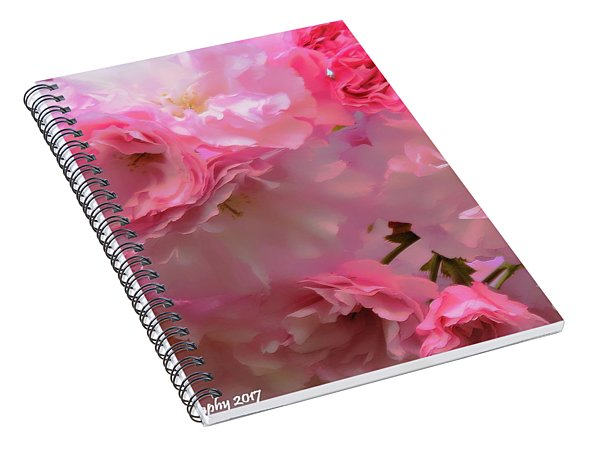 Spring With A Cherry On Top Spiral Notebook