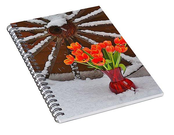 Springtime In Colorado Spiral Notebook