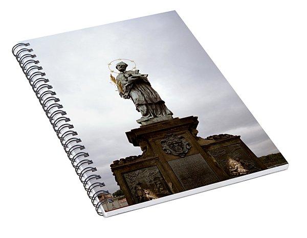 Saint John Of Nepomuk Spiral Notebook