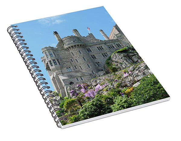 St Michael's Mount Castle Spiral Notebook