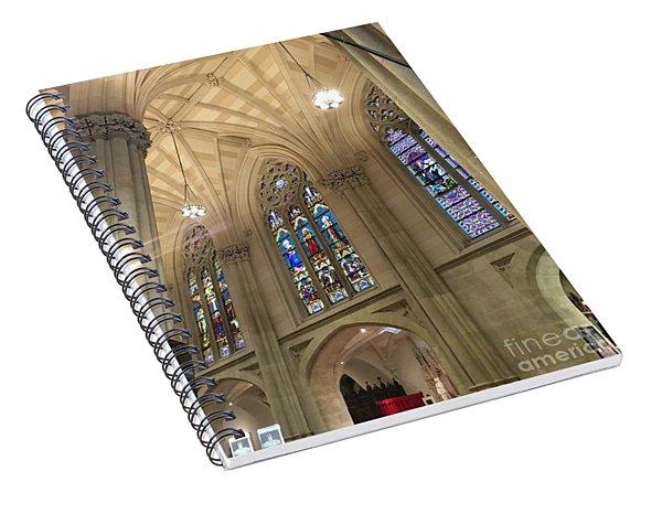 St. Patricks Cathedral Interior Spiral Notebook