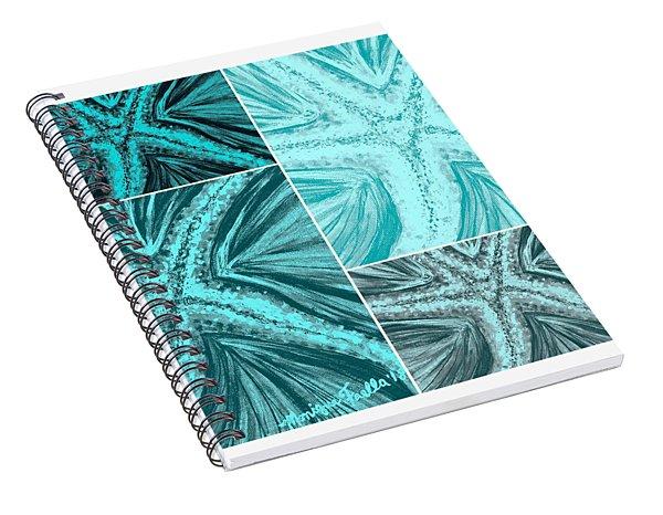 Starfish Pop Art Spiral Notebook