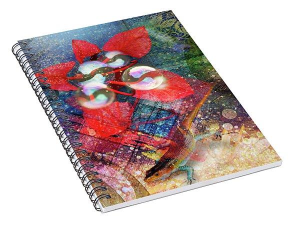 Starlight Spiral Notebook